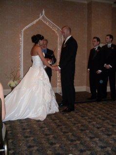 A hotel wedding