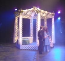 Titania and Bottom (groom) having their dialogue
