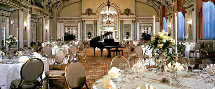 Grand Ballroom at the Fairmont Chateau Laurier