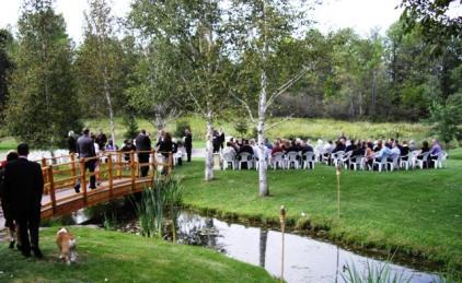 Gorgeous Backyard wedding for 200 people