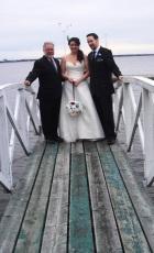 A Spring Wedding at Britannia Yacht Club