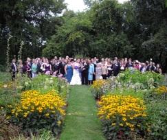 In the gardens of Billings Estate