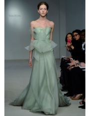 Celadon Dress by Vera Wang