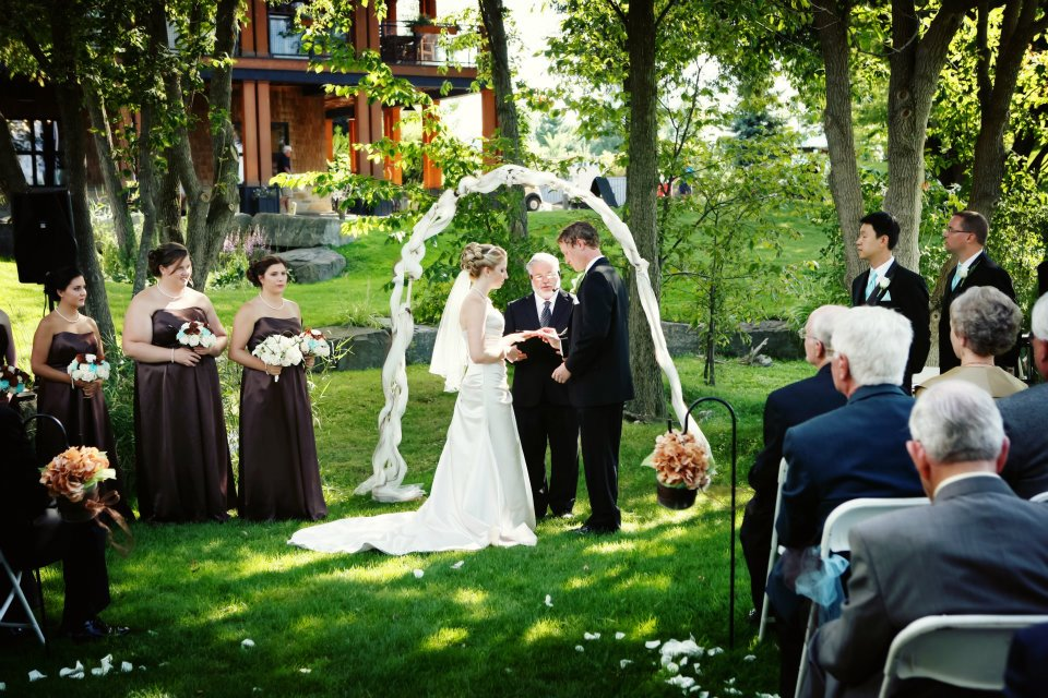 Ottawa Golf Clubs With Outdoor Wedding Ceremony Venues