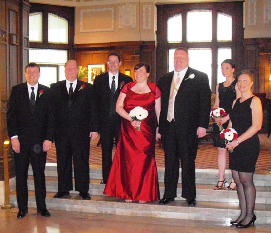 The Bride In A Red Wedding Dress WeddingChaplain s Journal