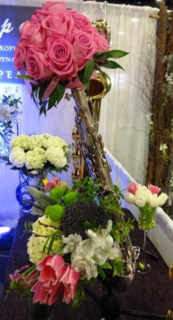 FlowersInspire in Sax Appeal's instruments