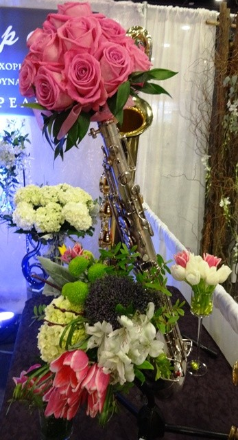 FlowersInspire in Sax Appeal's instruments