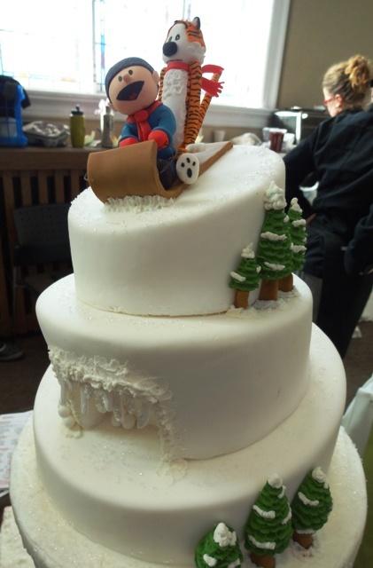 Cake Calvin & Hobbs