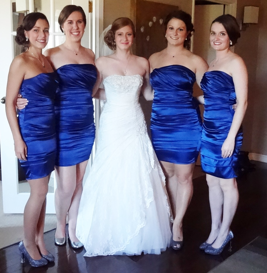 Bridesmaids dresses of 2013 ottawa wedding journal chateau ombrellifo Gallery