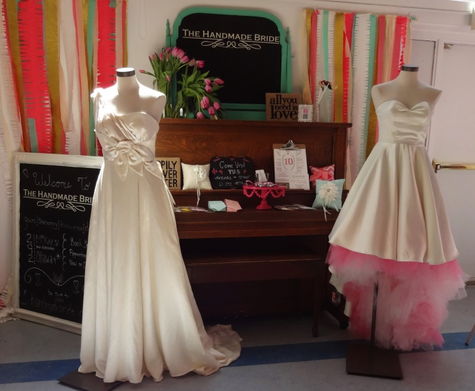 handmade bride gowns