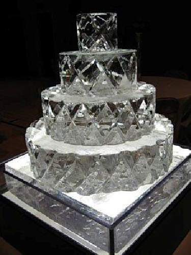 ice wedding cake top 5 trends of sculpture for winter wedding in canada 16259
