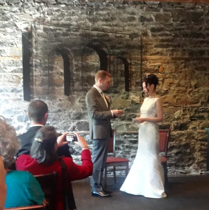 Wedding at the Courtyard Restaurant