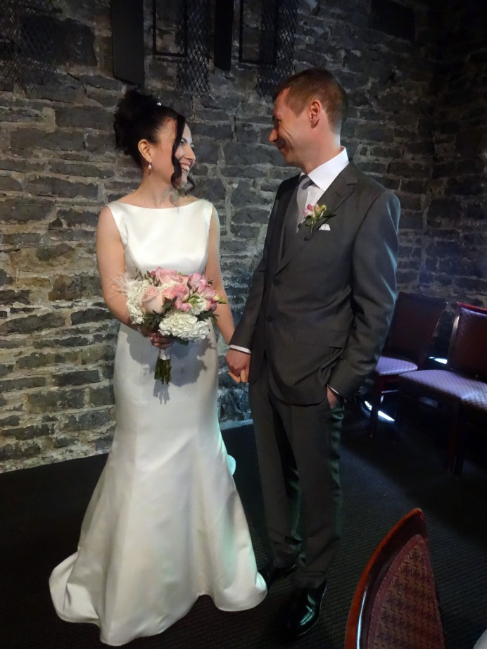 Wonderful couple getting married