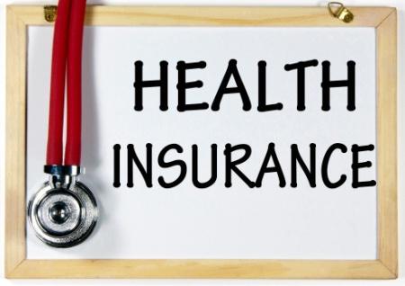 health insurance sign