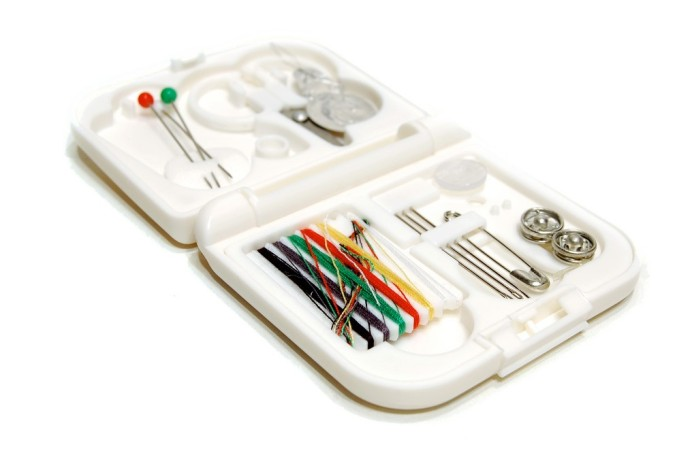 Sewing Kit Photo by Peter Prodoehl (Fickr Creative Commons)