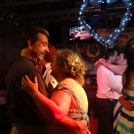 First dance on a boat