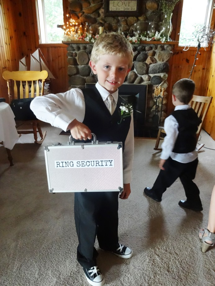 Wedding ring security