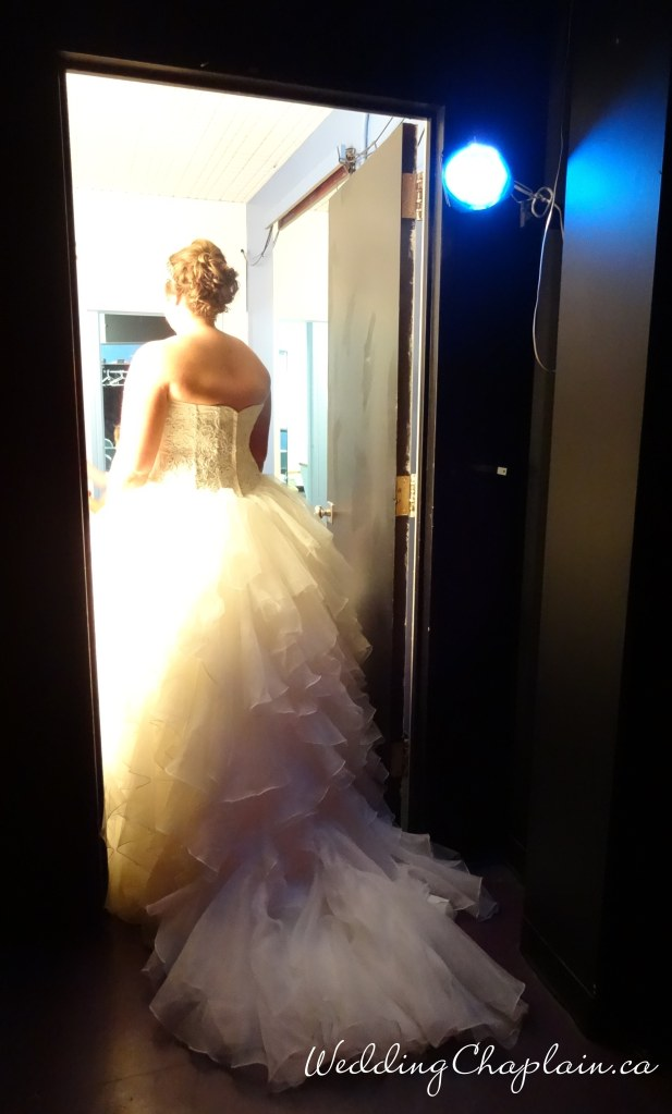 Back Stage Bride
