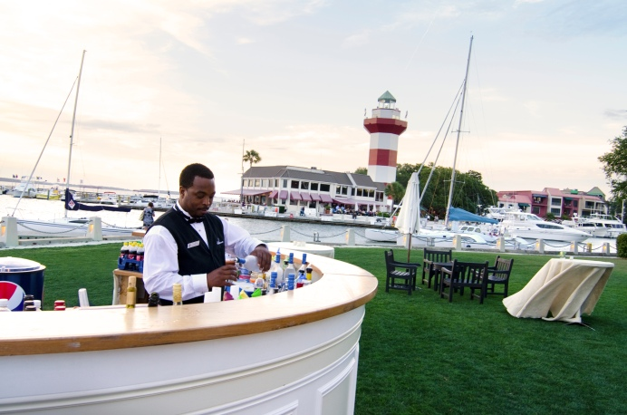 Outdoor Bar on 18th Lawn of Harbour Town Golf Links - Rob Tipton, Boomkin Productions