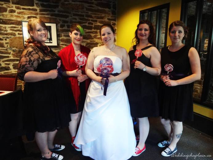 Lara & Bridesmaids