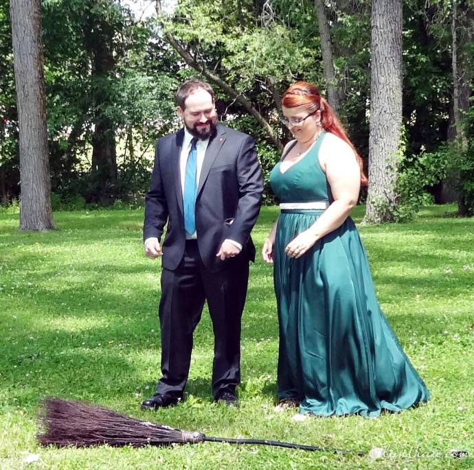 Jumping The Broom Pagan Wedding Ottawa Wedding Journal