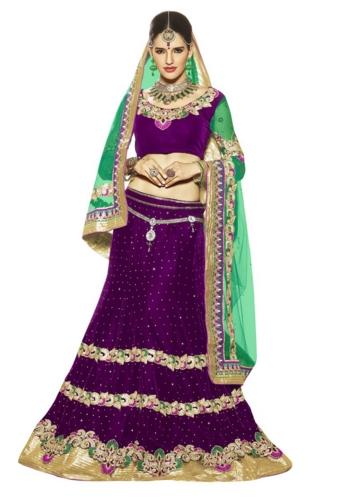 saree purple