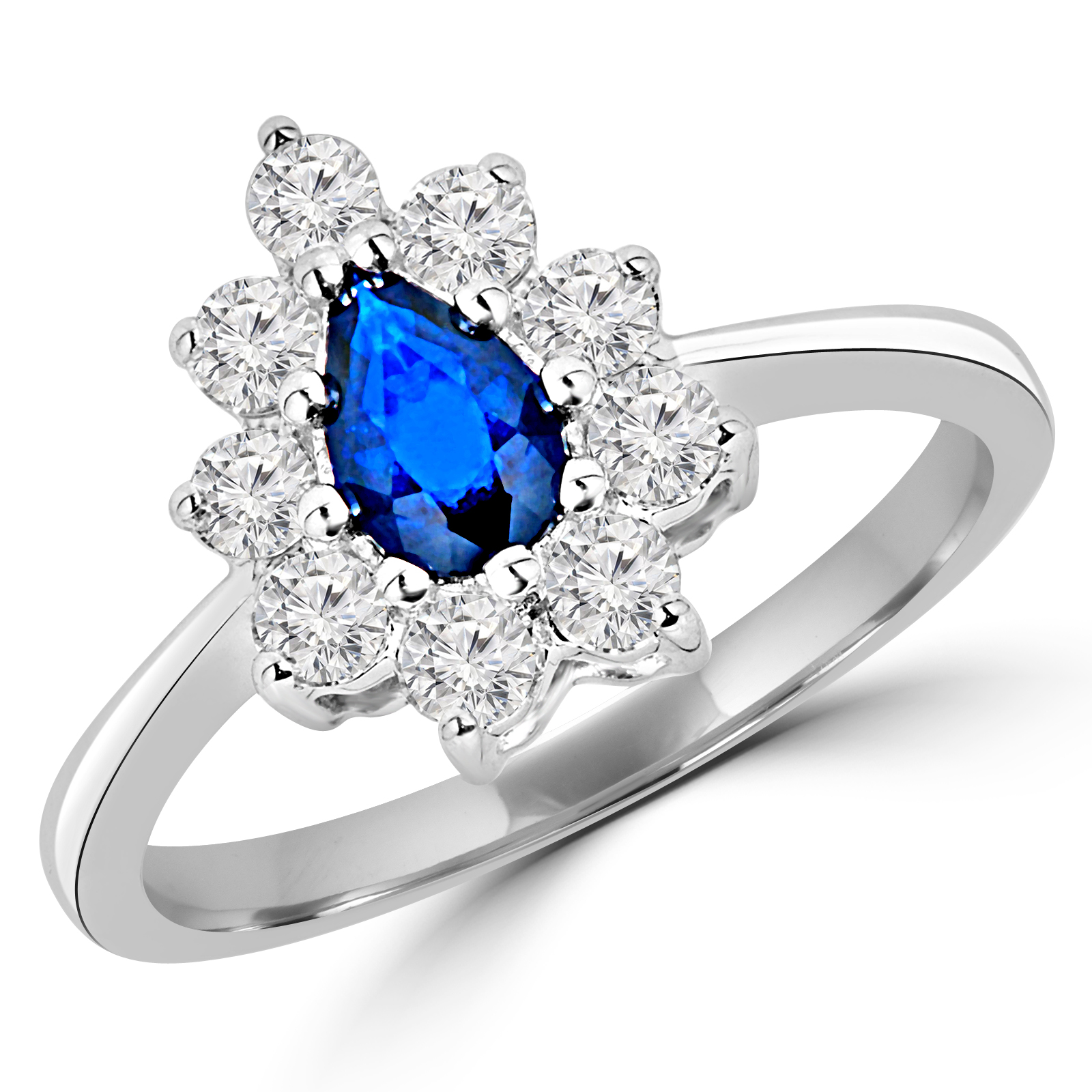 in rings wedding nouveau art ring gemstone engagement diamond product style aquamarine