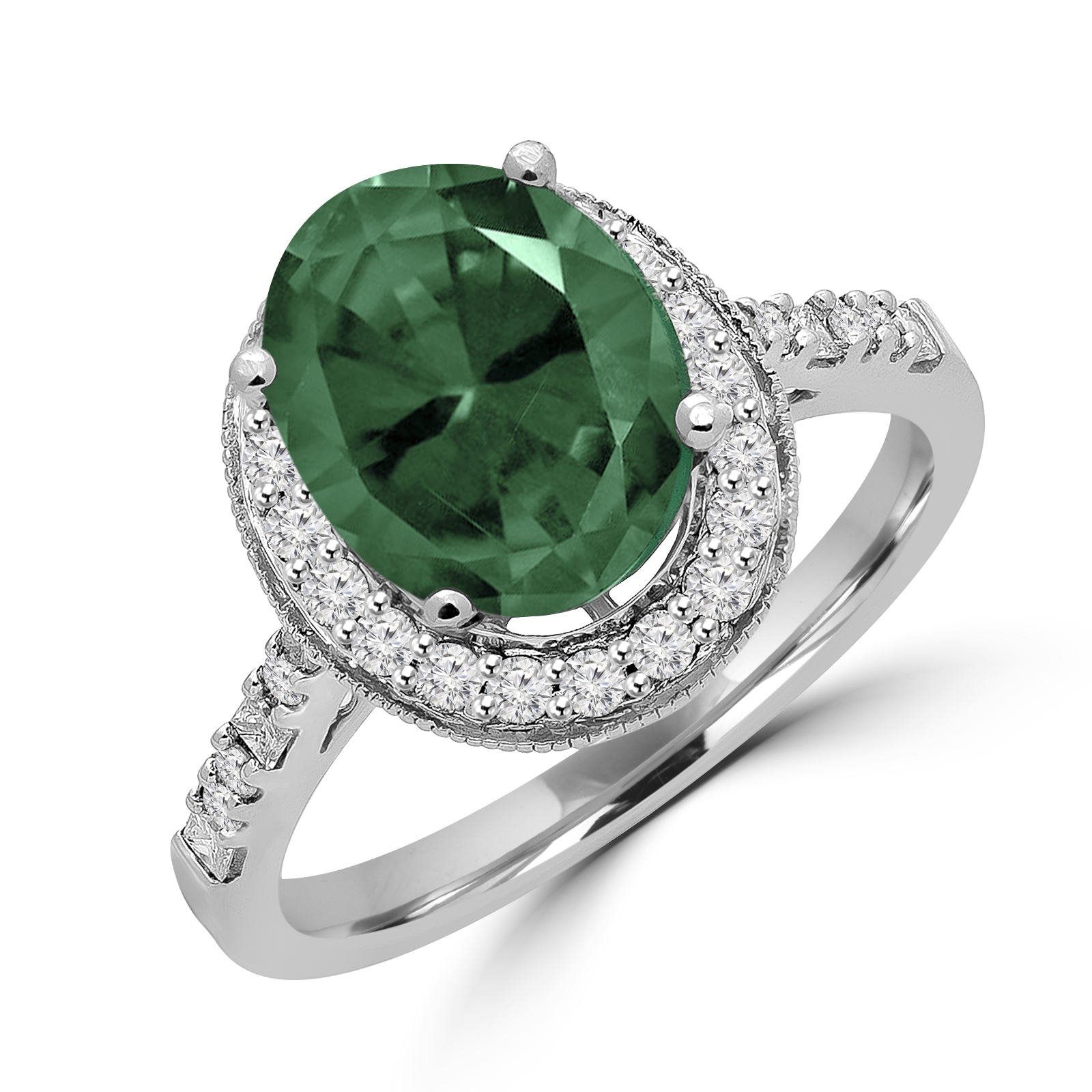 lapeer fine gemstone engagement micheleco product mi rings diamond green jewelry category