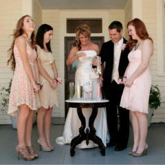 Sand Ceremony Family