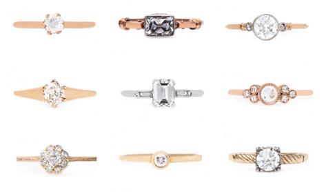 Minimalist Wedding Rings   Trending Minimalist Wedding Rings Ottawa Wedding Journal
