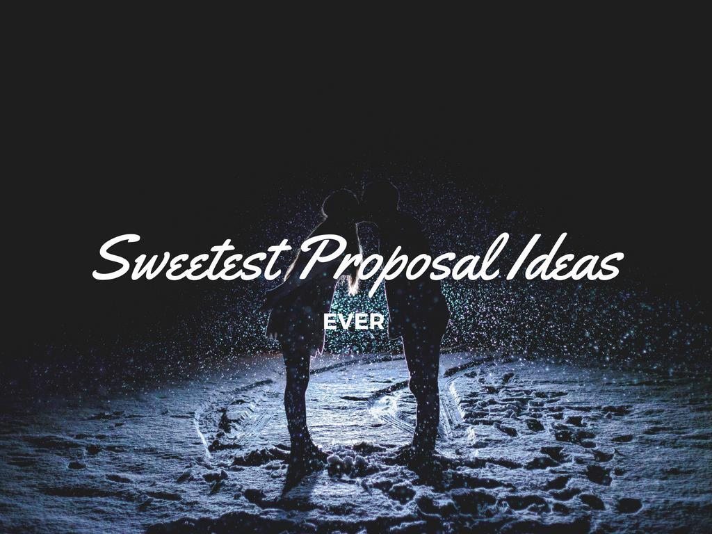 the sweetest wedding proposal ideas ever ottawa wedding journal